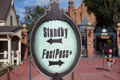 FastPass+ seems to even out crowd flow.