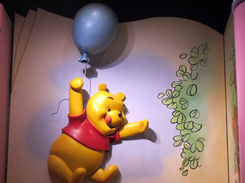 You spend less time waiting in line for Pooh using FastPass+.