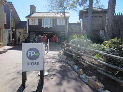 FastPass+ help near the Diamond Horseshoe.