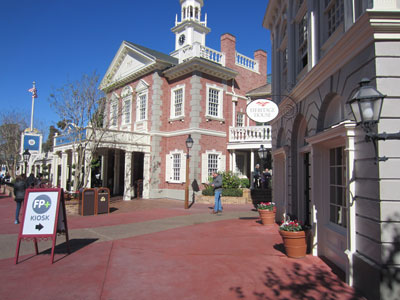 Heritage House is now a FastPass+ help center, at least for now.