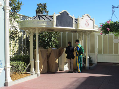 The old FastPass machines aren't in use any more.