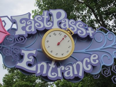 FastPass + entrance at Mad Tea Party.