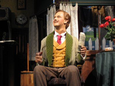 Rex Allen was the original voice for the father in the Carousel of Progress.