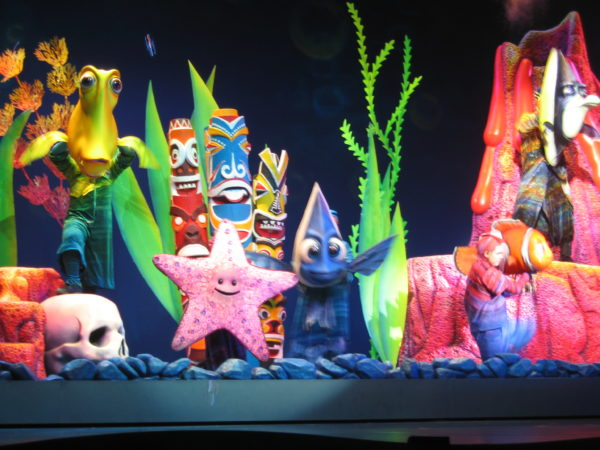 Finding Nemo - The Musical is my favorite attraction in DinoLand USA!