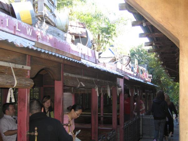 Wildlife Express Train is my favorite attraction in Rafiki's Planet Watch!