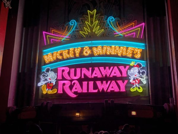 Mickey & Minnie's Runaway Railway is a brand new attraction, and I love it!