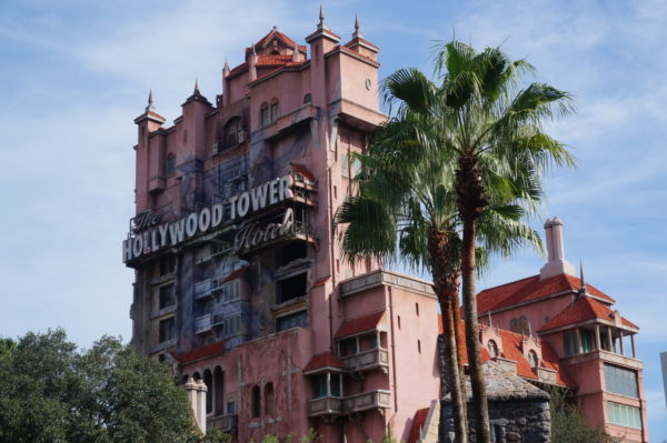 Tower of Terror is my favorite attraction on Sunset Boulevard!