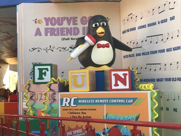 You've Got a Friend in Wheezy the Penguin!