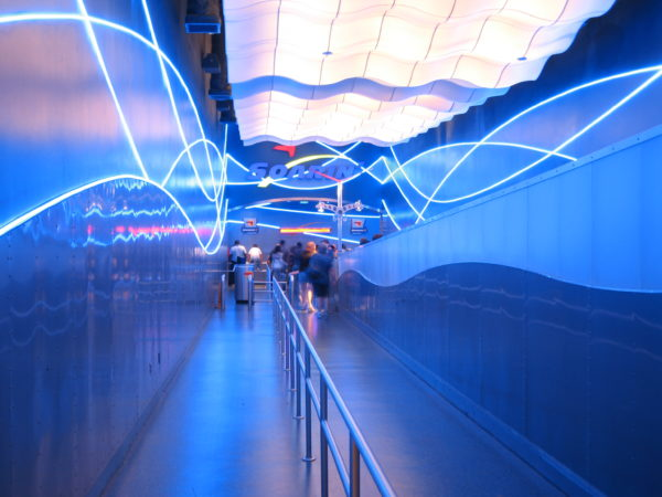 Soarin' Around the World is my favorite attraction in Future World!