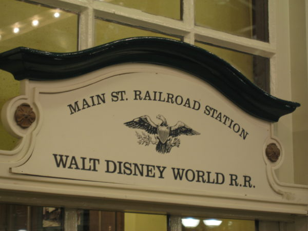 Main Street Railroad is my favorite attraction on Main Street USA in Magic Kingdom.