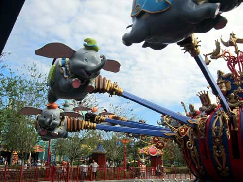 Dumbo is fun for kids of all ages.