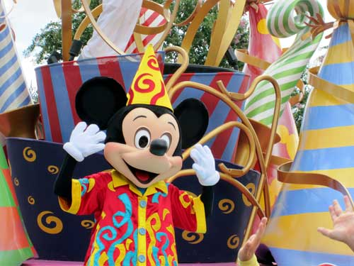 Go ahead - give Mickey a hug!