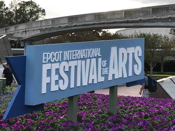 Welcome to the first (possibly annual?) Epcot International Festival of the Arts.