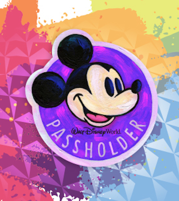 Annual Passholder Magnet painted by Will Guy. Photo credits (c) Disney Enterprises, Inc. All Rights Reserved
