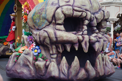 Skull Rock - hello Peter Pan.