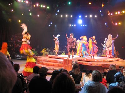 The Festival is one of the most popular shows in all of Disney World.
