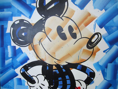 I liked this modern take on MIckey Mouse.