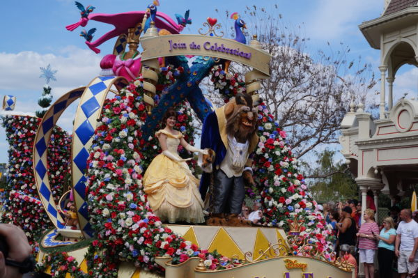 You can catch the Festival of Fantasy Parade at 2 PM daily through the end of the year!