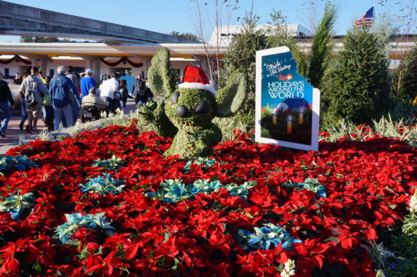 Celebrate holidays around the world at Epcot's International Festival of the Holidays!