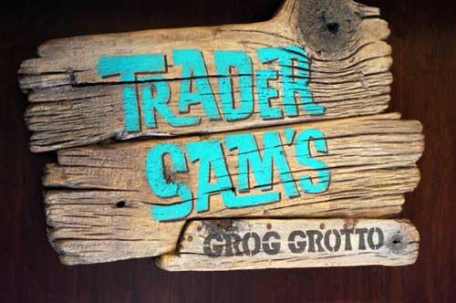Trader Sam's is a blast!