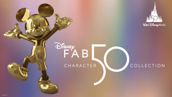 Disney has revealed the first Fab 50 statue - Mickey Mouse! Photo credits (C) Disney Enterprises, Inc. All Rights Reserved