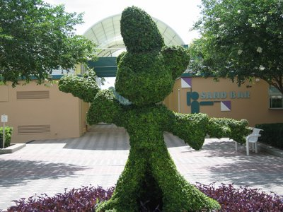 Disney World offers so many wonderful details everywhere. Take the time to enjoy them.