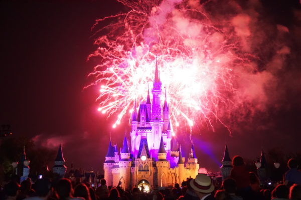Fireworks have caused several brush fires recently, but Disney has no plans to suspend the shows.