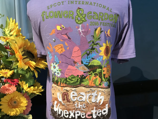 Figment is prominently featured on this festival t-shirt!