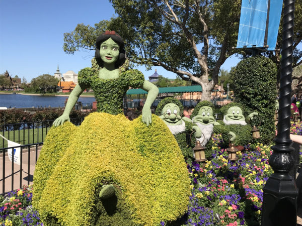 Epcot Flower And Garden Festival 2018 Topiaries World Of
