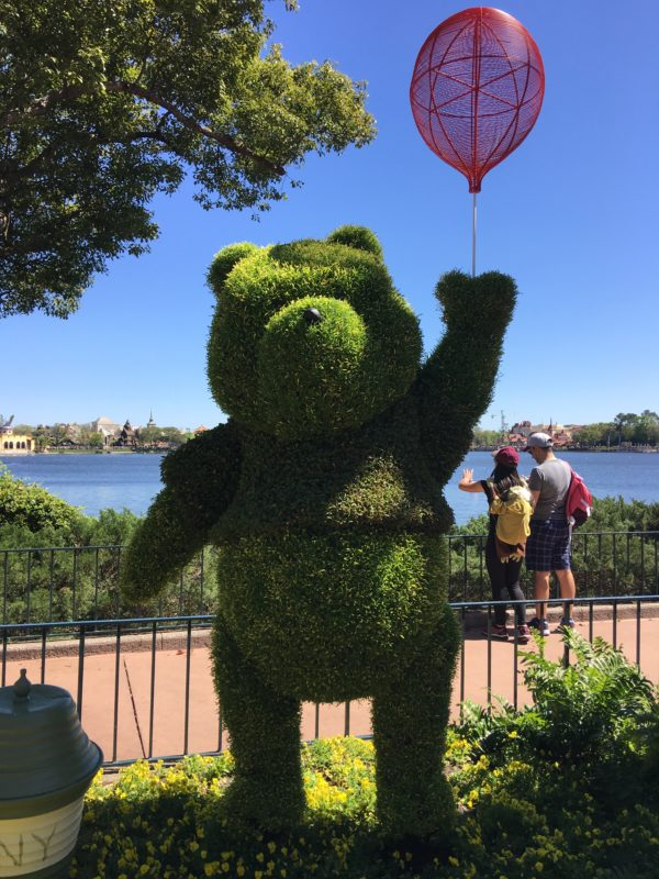 Winnie the Pooh- the jolly old bear, located near the UK.