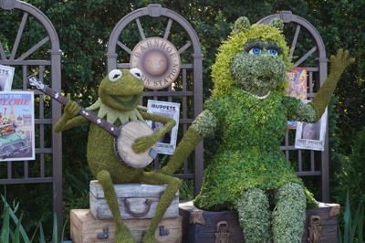 Where Kermit goes, Miss Piggy is sure to follow.