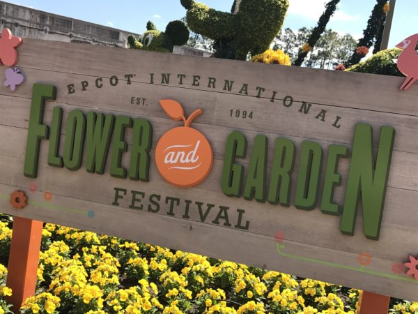 Welcome to the 2017 Epcot International Flower and Garden Festival!