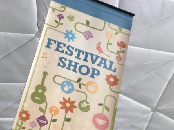 The Festival Shop is the go to spot for all things Flower and Garden.