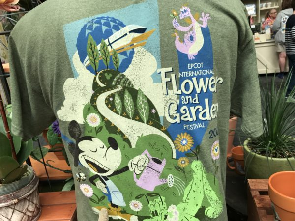 Here's another tee that celebrates all things Epcot including the 23rd annual Flower and Garden Festival.