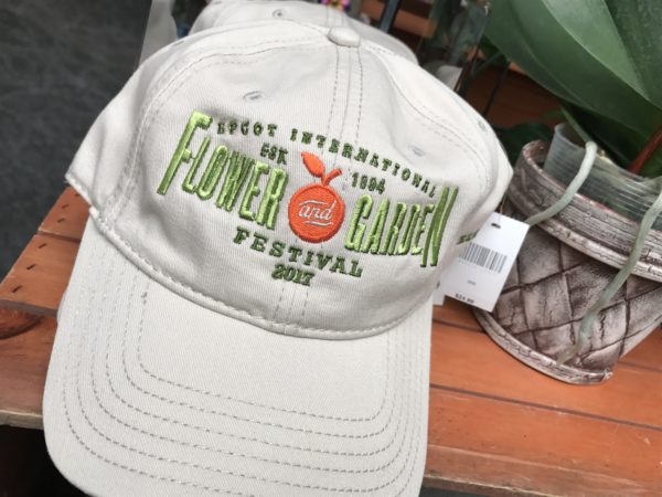 Keep the sun out of your eyes during the festival and while you're gardening at home with this 2017 Flower and Garden Festival ball cap.