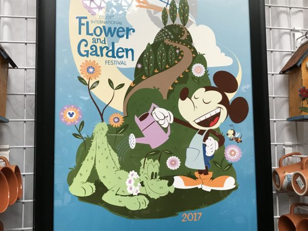 Display your love for the Flower and Garden Festival in your home or office with this colorful poster.