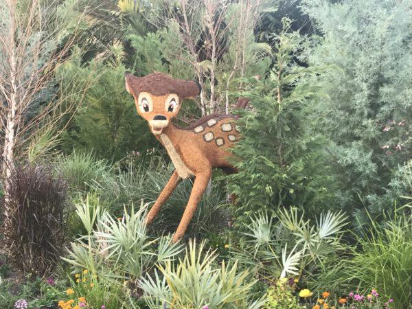 Bambi is hidden just a bit.