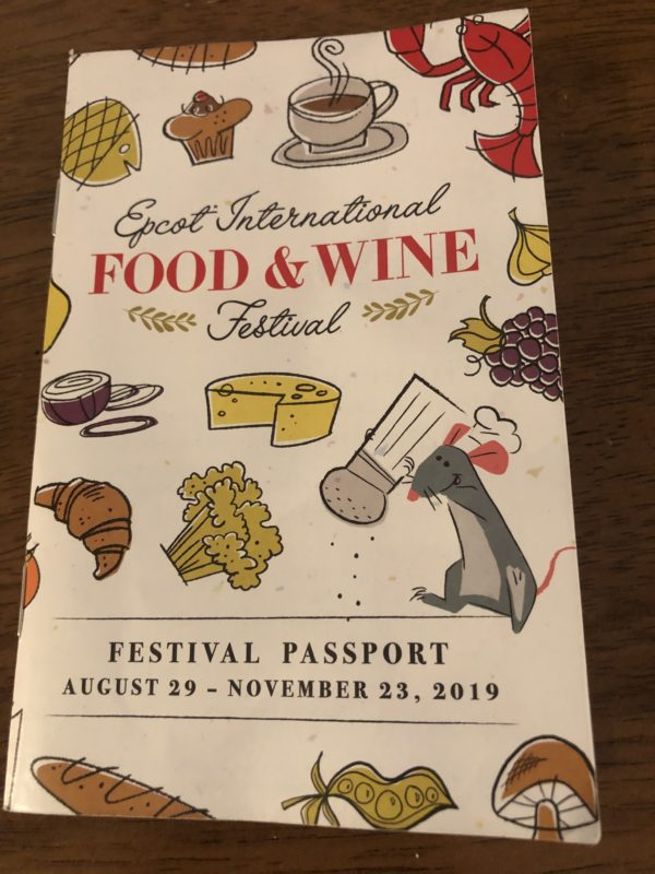 If you're going to any of Epcot's Festivals, be sure to pick up your free festival passport!