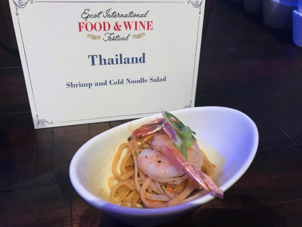 Thailand - Shrimp and Cold Noodle Salad