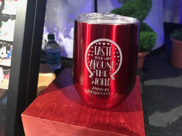 Taste Your Way Around the World Annual Passholder Tumbler