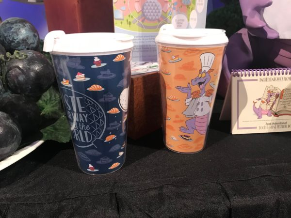 Taste Your way Around the World and Chef Figment travel mugs