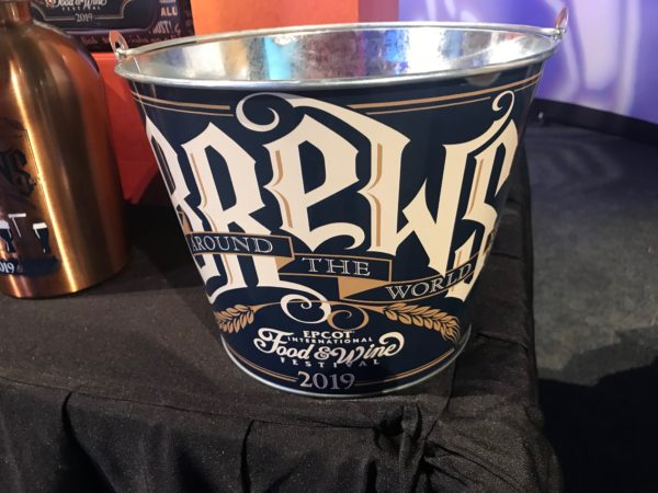 Brews Around the World - Epcot International Food and Wine Festival 2019 - ice bucket
