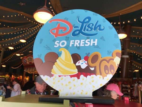 The new Disney Parks treats-themed merchandise, D-Lish, is now available!