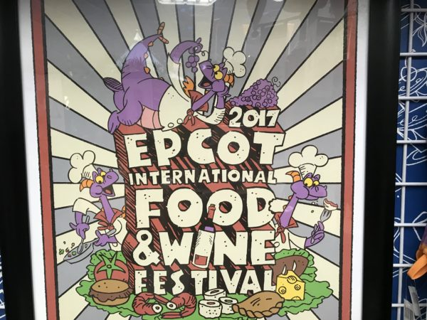 Figment is a main feature of the Festival merchandise like this poster.