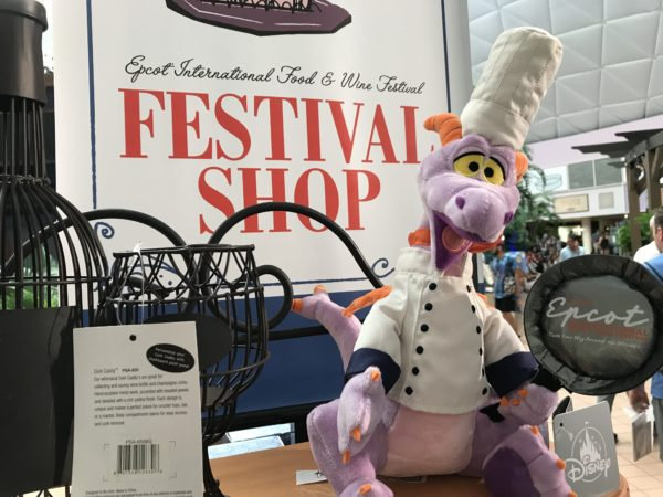Chef Figment dressed up in his chef finest!