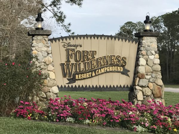 Only guests with dining, activity, or resort reservations will be allowed to park at Fort Wilderness until further notice.