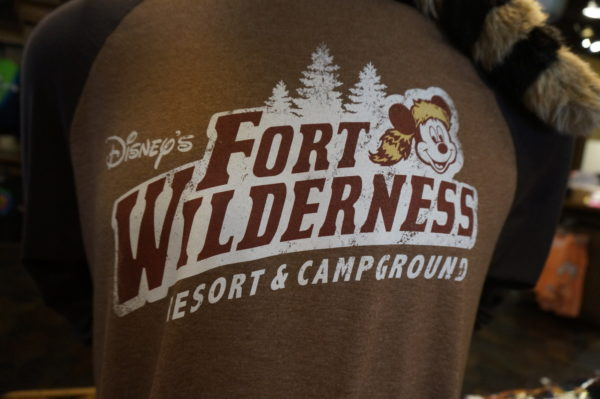 Fort Wilderness provides a real outdoors experience. Be prepared.