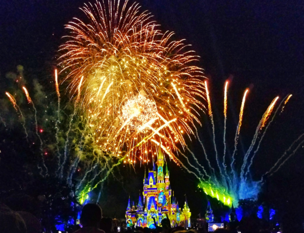 The best part about ending in Magic Kingdom was getting to celebrate my success with fireworks!