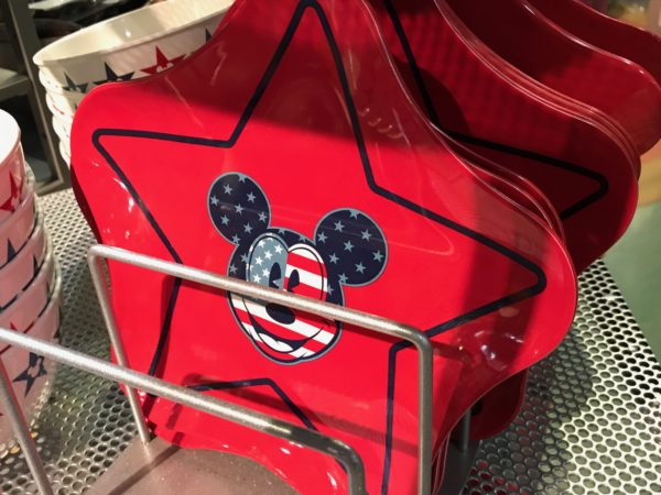 How about these star-shaped Mickey plates?