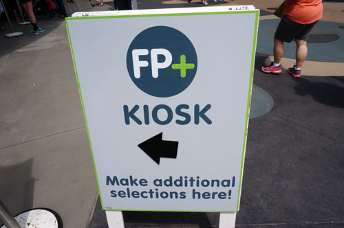 You no longer need to visit the FastPass+ kiosks to make additional reservations.